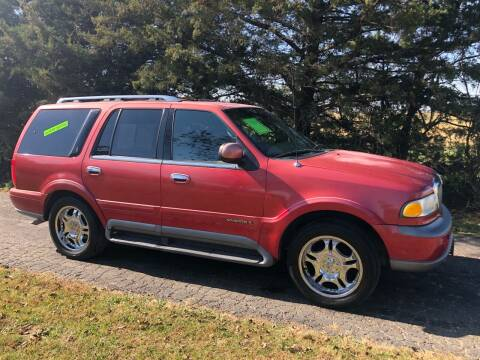 1999 Lincoln Navigator for sale at Kansas Car Finder in Valley Falls KS
