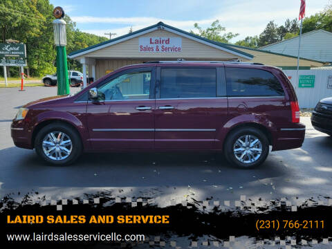 2009 Chrysler Town and Country for sale at LAIRD SALES AND SERVICE in Muskegon MI