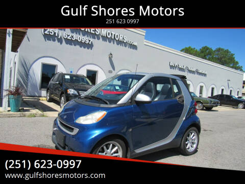 2008 Smart fortwo for sale at Gulf Shores Motors in Gulf Shores AL