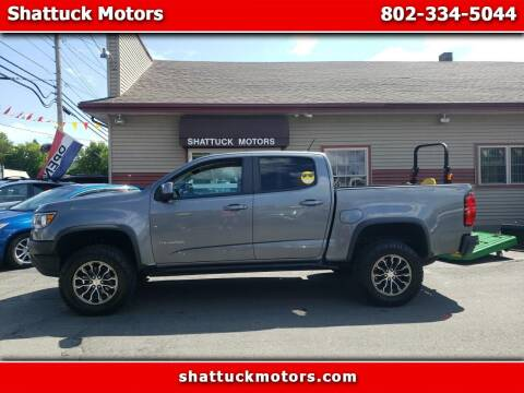 2018 Chevrolet Colorado for sale at Shattuck Motors - NEKtrucks.com in Newport VT