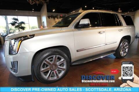 2015 Cadillac Escalade for sale at Discover Pre-Owned Auto Sales in Scottsdale AZ