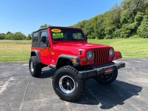2003 Jeep Wrangler for sale at A & S Auto and Truck Sales in Platte City MO