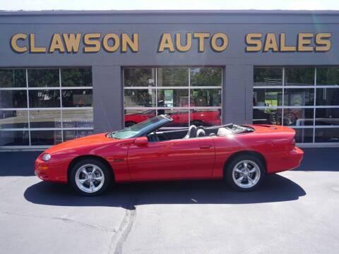 2002 Chevrolet Camaro for sale at Clawson Auto Sales in Clawson MI