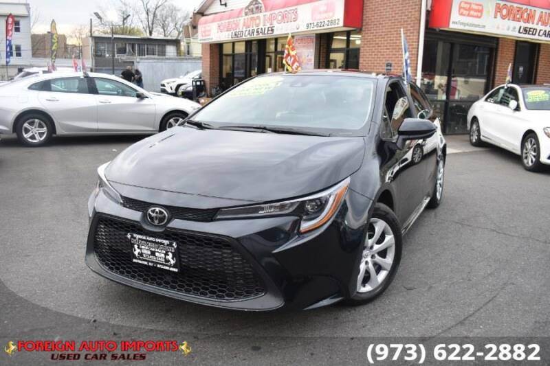 2021 Toyota Corolla for sale at www.onlycarsnj.net in Irvington NJ