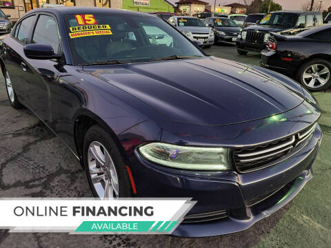 2015 Dodge Charger for sale at Super Cars Sales Inc #1 - Super Auto Sales Inc #2 in Modesto CA