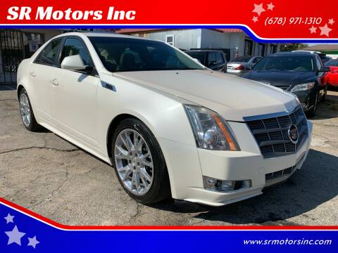2011 Cadillac CTS for sale at SR Motors Inc in Gainesville GA