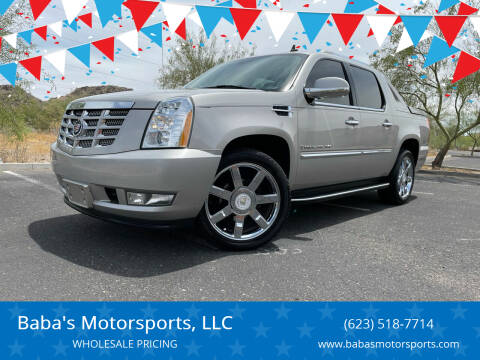 2007 Cadillac Escalade EXT for sale at Baba's Motorsports, LLC in Phoenix AZ
