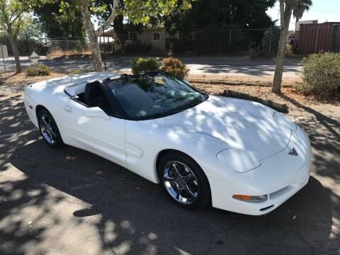 2004 Chevrolet Corvette for sale at Steven Pope in Auburn CA