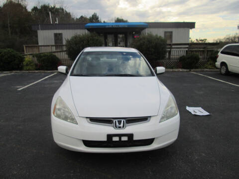2005 Honda Accord for sale at Olde Mill Motors in Angier NC