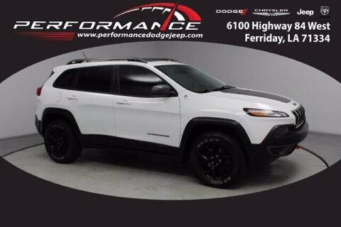2015 Jeep Cherokee for sale at Performance Dodge Chrysler Jeep in Ferriday LA