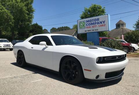 2016 Dodge Challenger for sale at GR Motor Company in Garner NC