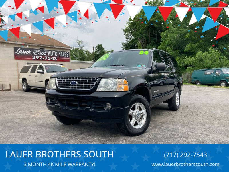 2004 Ford Explorer for sale at LAUER BROTHERS SOUTH in York PA