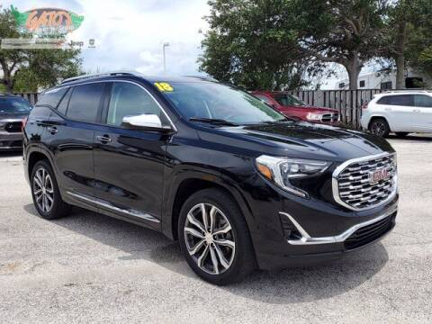 2018 GMC Terrain for sale at GATOR'S IMPORT SUPERSTORE in Melbourne FL