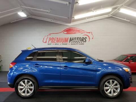 2015 Mitsubishi Outlander Sport for sale at Premium Motors in Villa Park IL