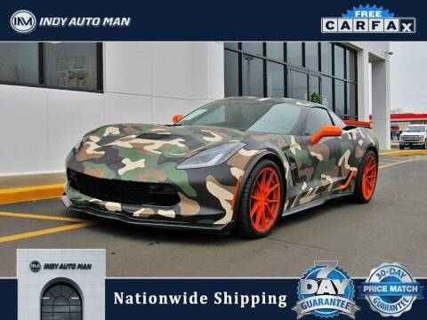2017 Chevrolet Corvette for sale at INDY AUTO MAN in Indianapolis IN