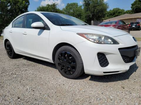 2013 Mazda MAZDA3 for sale at ZNM Motors in Irving TX