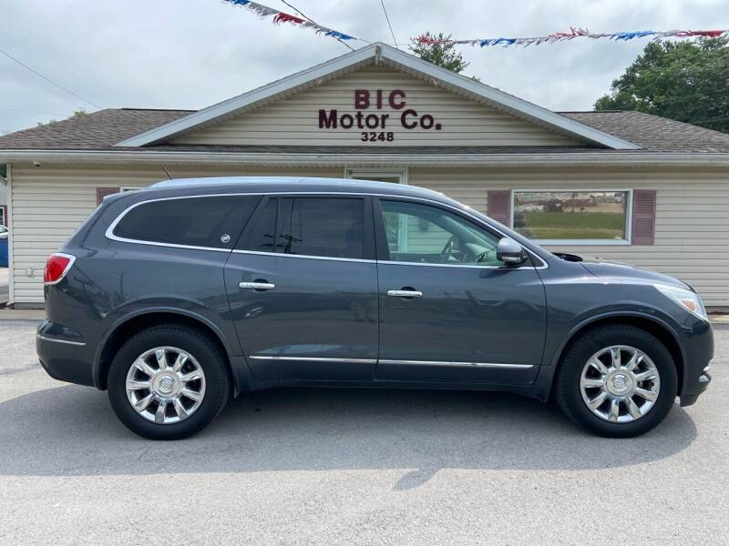 2014 Buick Enclave for sale at Bic Motors in Jackson MO