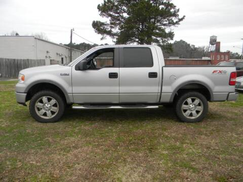 2008 Ford F-150 for sale at SeaCrest Sales, LLC in Elizabeth City NC