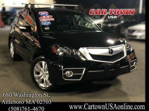 2012 Acura RDX for sale at Car Town USA in Attleboro MA
