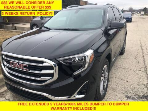 2019 GMC Terrain for sale at Mikes Auto Forum in Bensenville IL