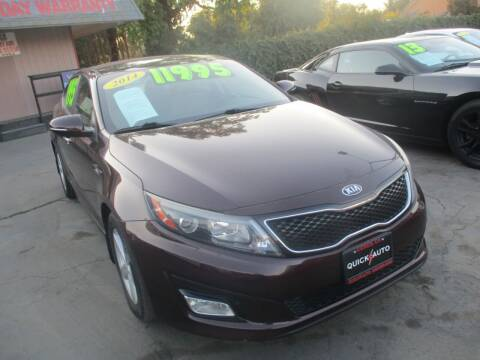 2014 Kia Optima for sale at Quick Auto Sales in Modesto CA