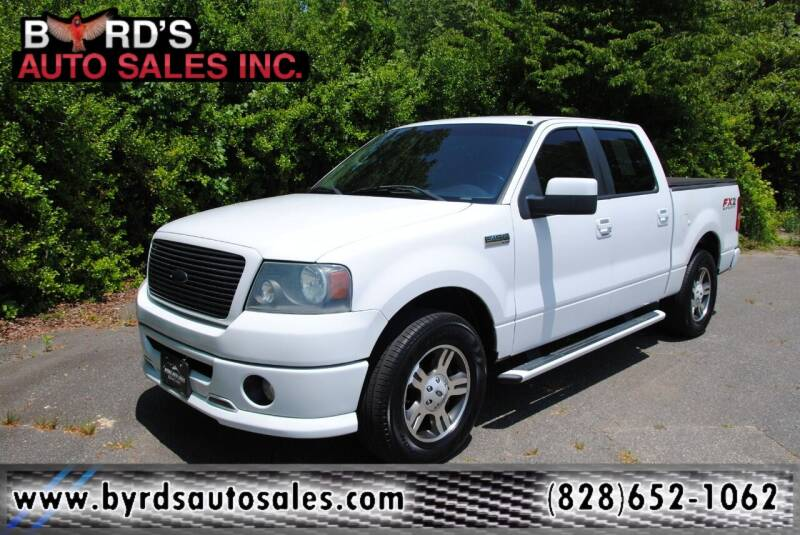 2008 Ford F-150 for sale at Byrds Auto Sales in Marion NC