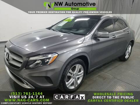 2015 Mercedes-Benz GLA for sale at NW Automotive Group in Cincinnati OH