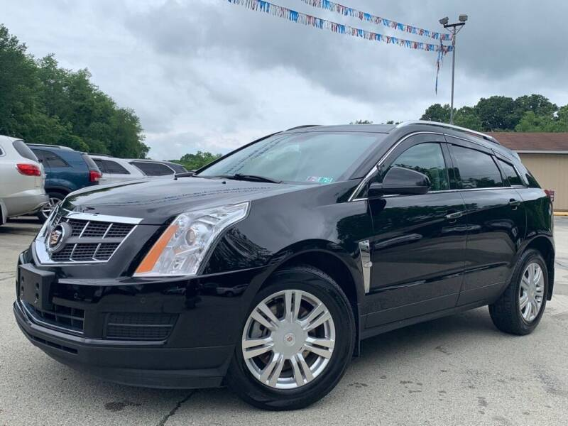 2012 Cadillac SRX for sale at Elite Motors in Uniontown PA