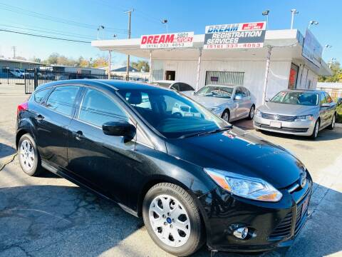 2012 Ford Focus for sale at Dream Motors in Sacramento CA