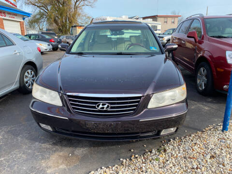 2007 Hyundai Azera for sale at Diamond Auto Sales in Pleasantville NJ