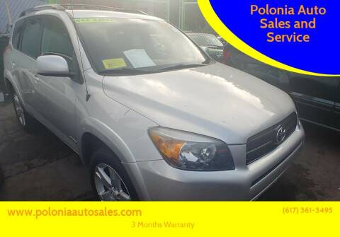2008 Toyota RAV4 for sale at Polonia Auto Sales and Service in Hyde Park MA