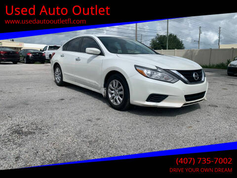 2016 Nissan Altima for sale at Used Auto Outlet in Orlando FL