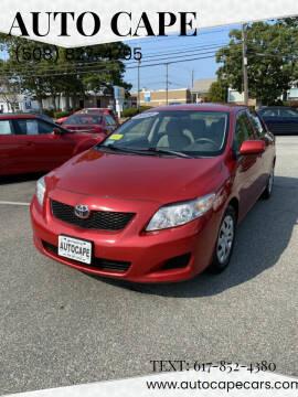 2010 Toyota Corolla for sale at Auto Cape in Hyannis MA
