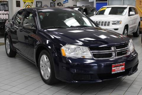 2014 Dodge Avenger for sale at Windy City Motors in Chicago IL