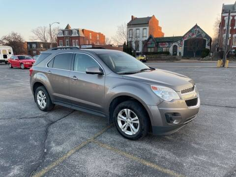 2012 Chevrolet Equinox for sale at DC Auto Sales Inc in Saint Louis MO