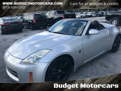 2007 Nissan 350Z for sale at Budget Motorcars in Tampa FL