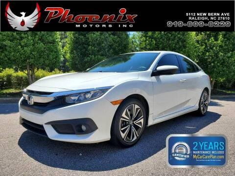 2017 Honda Civic for sale at Phoenix Motors Inc in Raleigh NC