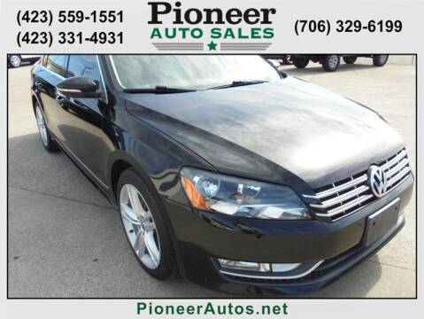 2012 Volkswagen Passat for sale at PIONEER AUTO SALES LLC in Cleveland TN