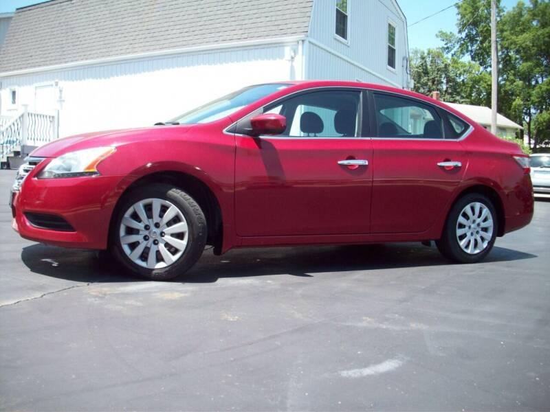 2014 Nissan Sentra for sale at Whitney Motor CO in Merriam KS