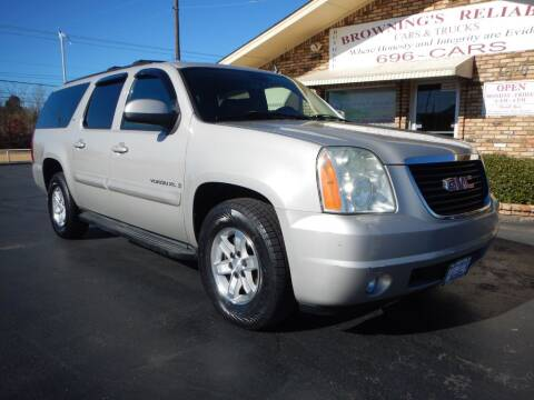 2007 GMC Yukon XL for sale at Browning's Reliable Cars & Trucks in Wichita Falls TX