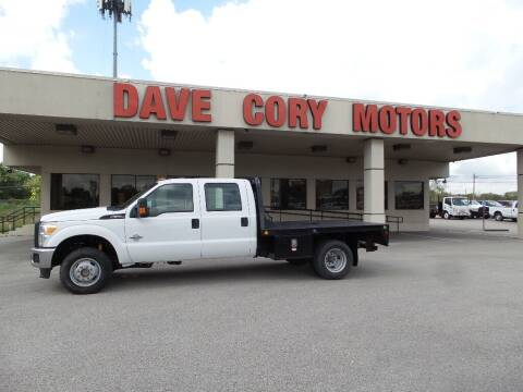 2015 Ford F-350 Super Duty for sale at DAVE CORY MOTORS in Houston TX