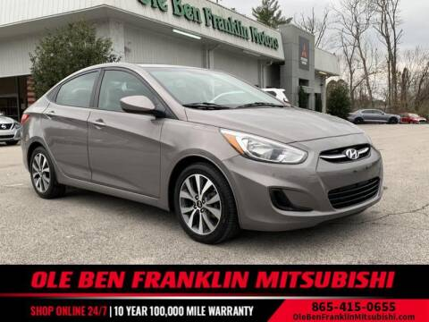 2017 Hyundai Accent for sale at Ole Ben Franklin Mitsbishi in Oak Ridge TN