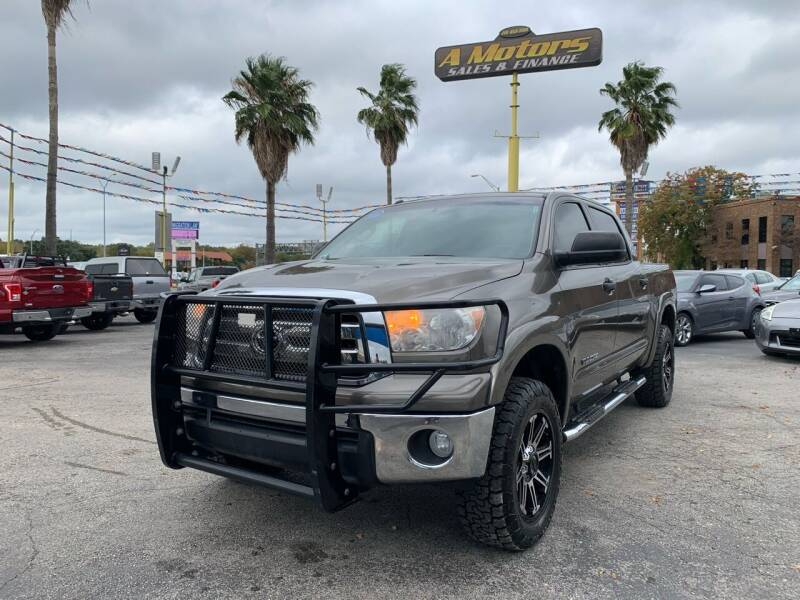 2013 Toyota Tundra for sale at A MOTORS SALES AND FINANCE in San Antonio TX