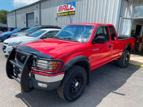 2001 Toyota Tacoma for sale at Ball Pre-owned Auto in Terra Alta WV