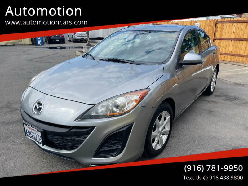 2010 Mazda MAZDA3 for sale at Automotion in Roseville CA