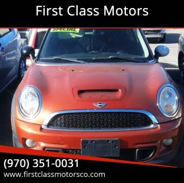 2012 MINI Cooper Hardtop for sale at First Class Motors in Greeley CO