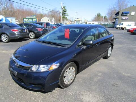 2010 Honda Civic for sale at Route 12 Auto Sales in Leominster MA
