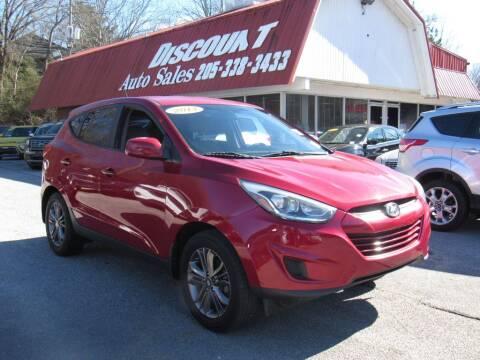 2014 Hyundai Tucson for sale at Discount Auto Sales in Pell City AL