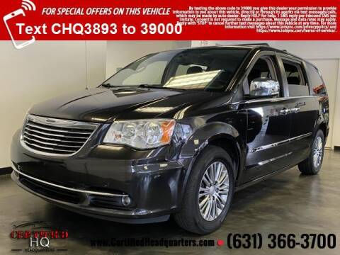 2014 Chrysler Town and Country for sale at CERTIFIED HEADQUARTERS in Saint James NY