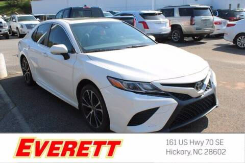 2018 Toyota Camry for sale at Everett Chevrolet Buick GMC in Hickory NC